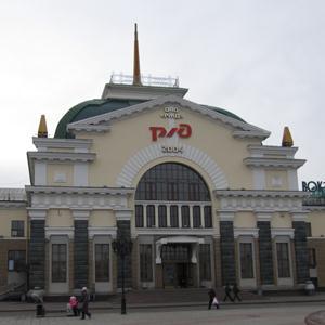 Железнодорожные вокзалы Ухолово
